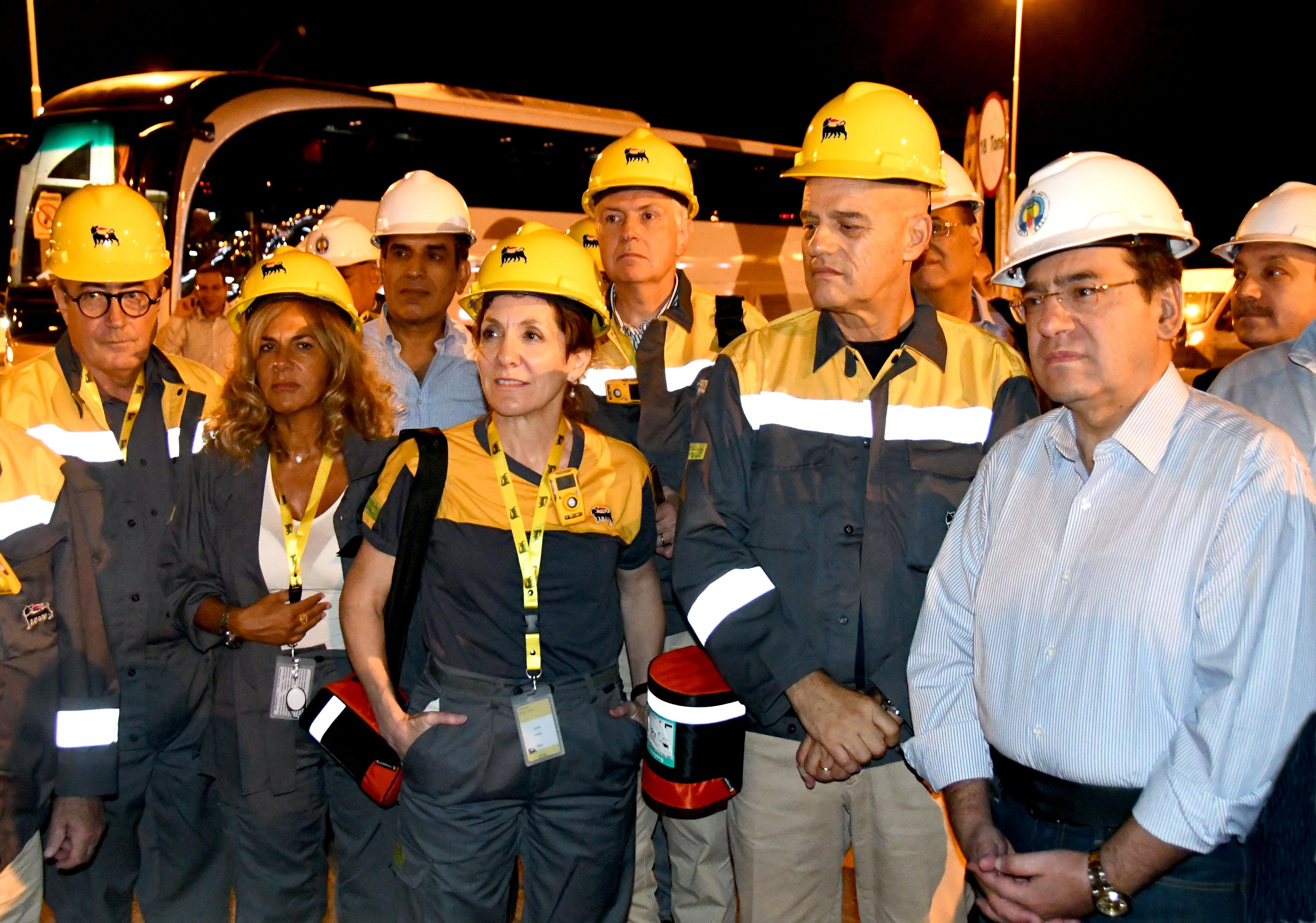وزير البترول ومجلس ادارة إينى