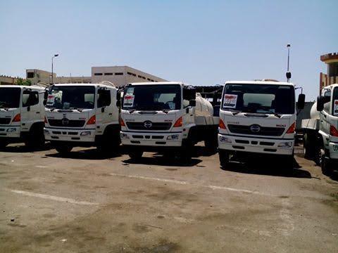 محافظ-بورسعيد-يدشن-50-سيارة-جديدة-لمنظومة-النظافة-والصرف-الصحي