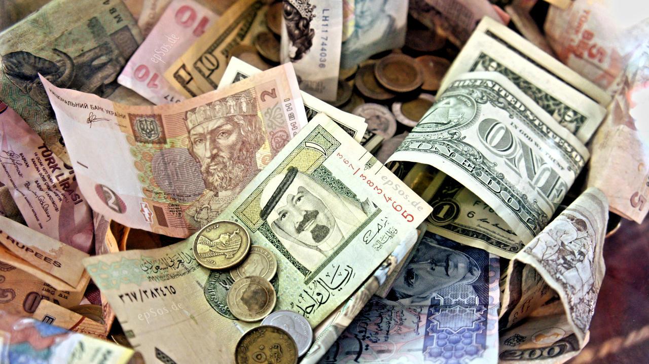 أسعار-العملات-الأجنبية-اليوم-أمام-الجنيه-المصري
