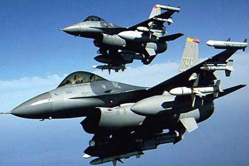 مقاتلات أمريكية من طراز إف 16