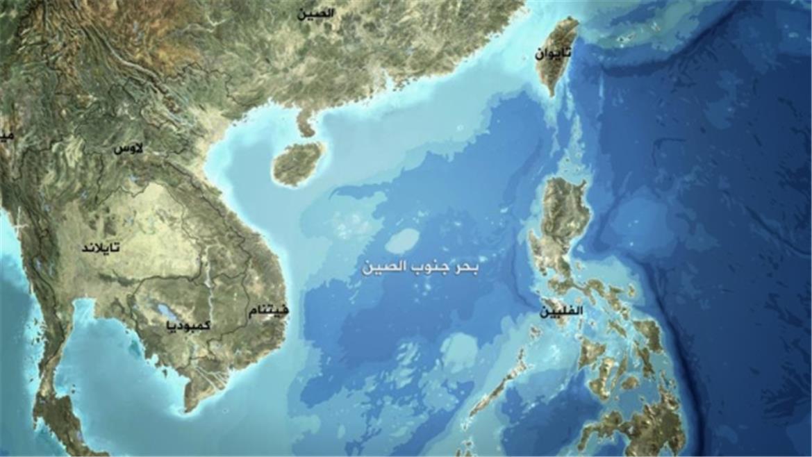 خريطة بحر الصين الجنوبي