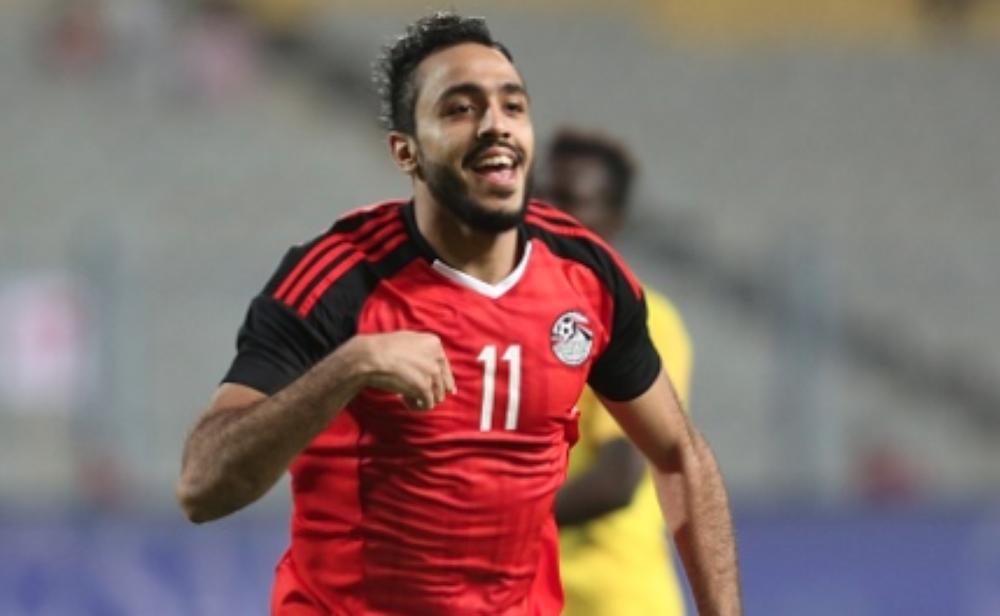 كهربا مع منتخب مصر
