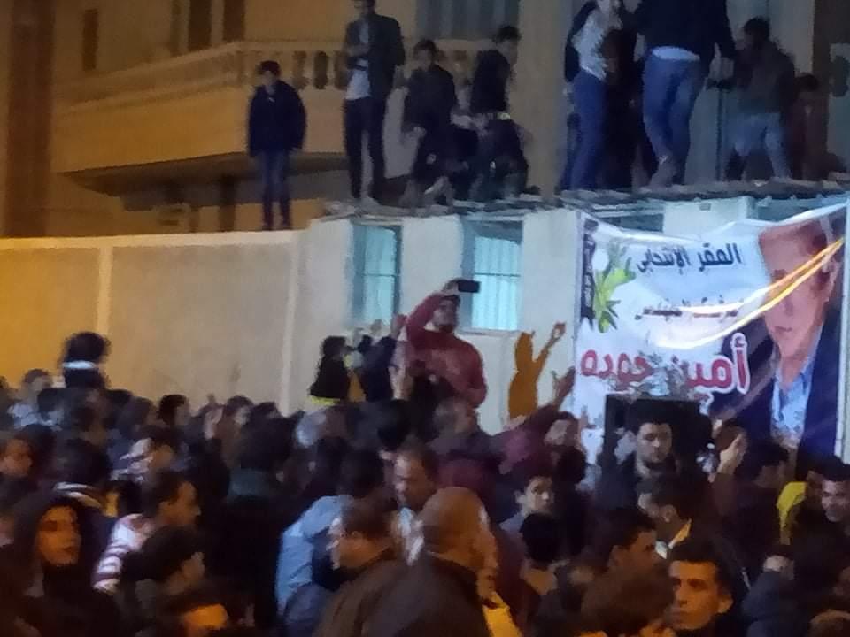 مسيرات فرح تجوب شوارع العريش احتفالا بفوز امين جودة بمقعد النواب (5)