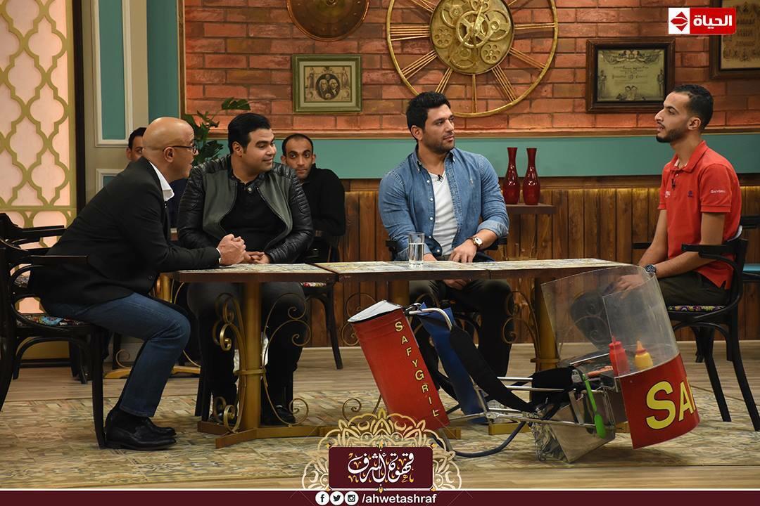حسن الرداد واشرف عبد الباقي في قهوة اشرف (1)