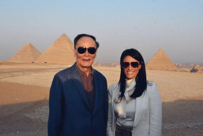 نائب رئيس الصين والوزيرة رانيا المشاط