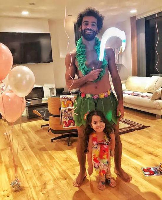 صلاح يحتفل بعيد ميلاد مكة على طريقته الخاصة