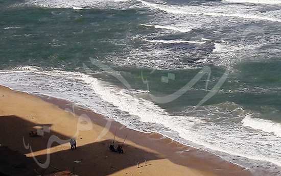 احد شواطئ الاسكندرية