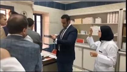 الصيدلية مراجعة الأدوية
