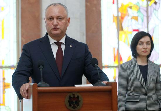 أحد أعضاء برلمان مولودوفا