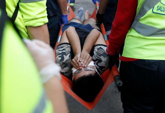 مصاب بين المتظاهرين