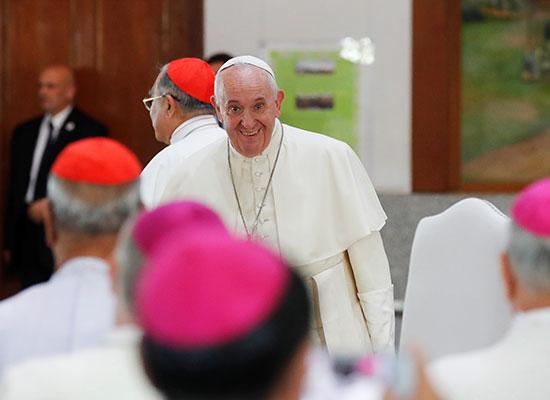 بابا الفاتيكان فى تايلند