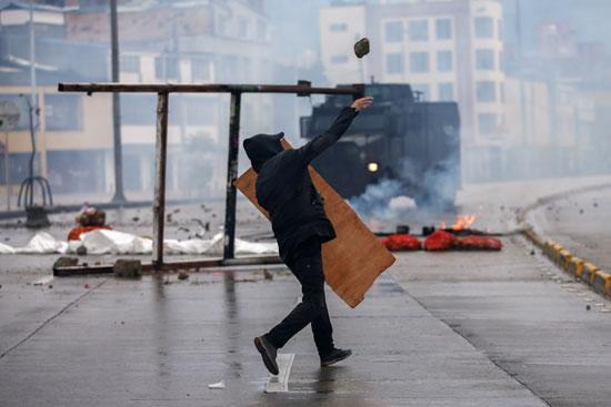 تظاهرات فى كولومبيا