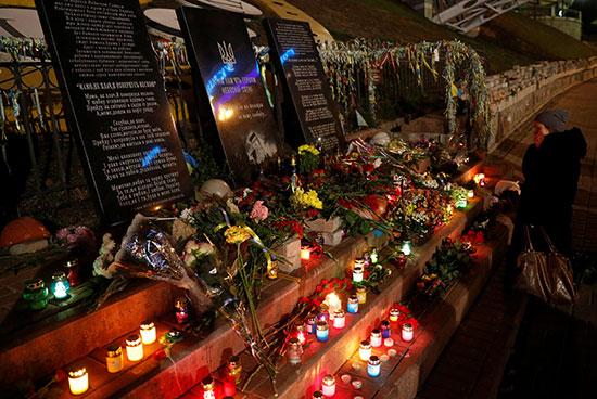 النصب التذكارى لضحايا أوكرانيا