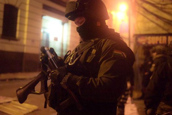 بوليفيا شهدت عدة اشتباكات بين المتظاهرين والشرطة