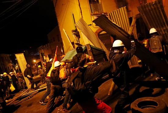 العنف يسود المشهد فى بوليفيا