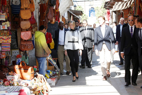ايفانكا وشون فى شوارع المدينة