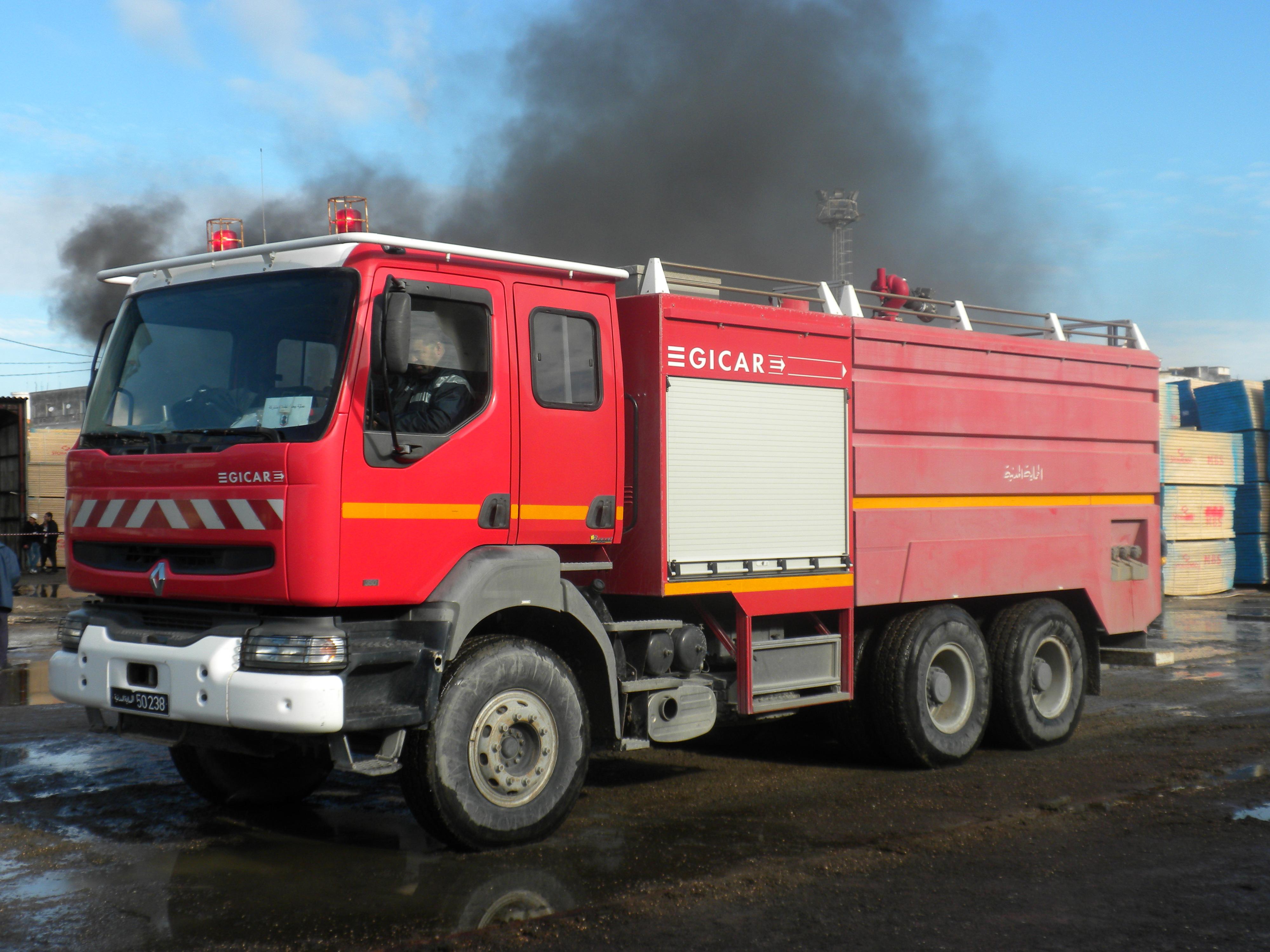 Camion_des_pompiers_de_Bizerte