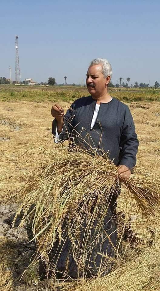 الحاج حسين عبد الرحمن أبوصدام نقيب عام الفلاحين