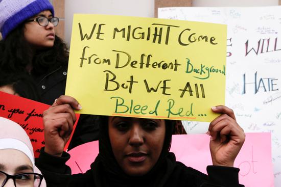 مسيرة فى كندا تضامنا مع ضحايا هجوم المسجدين  (6)