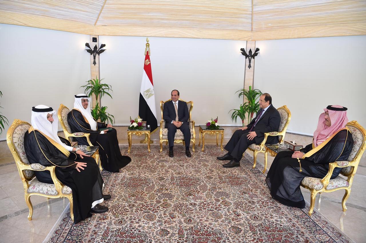 الرئيس السيسى يتسلم رسالة من خادم الحرمين (3)