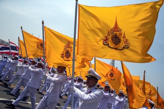مراسم تتويج الملك الجديد فى تايلاند (2)