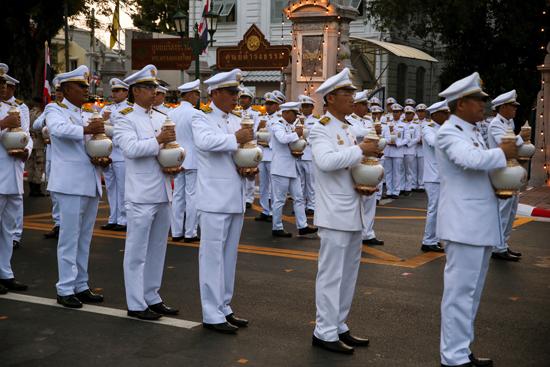 مراسم تتويج الملك الجديد فى تايلاند (1)