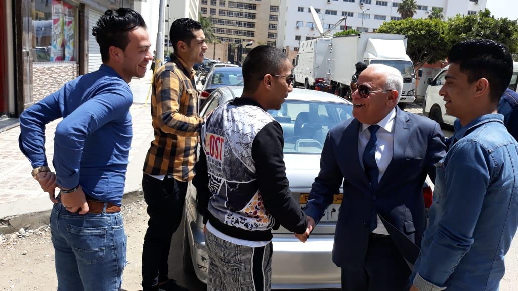 محافظ  بورسعيد  يتفقد عدد من  لجان الاستفتاء على التعديلات الدستورية وسط إقبال كبير من المواطنين (11)