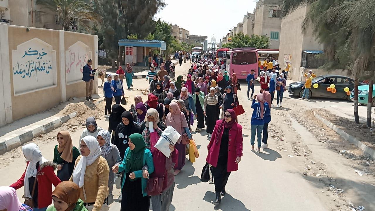 مسيرات شعبية تجوب جنوب سيناء (4)