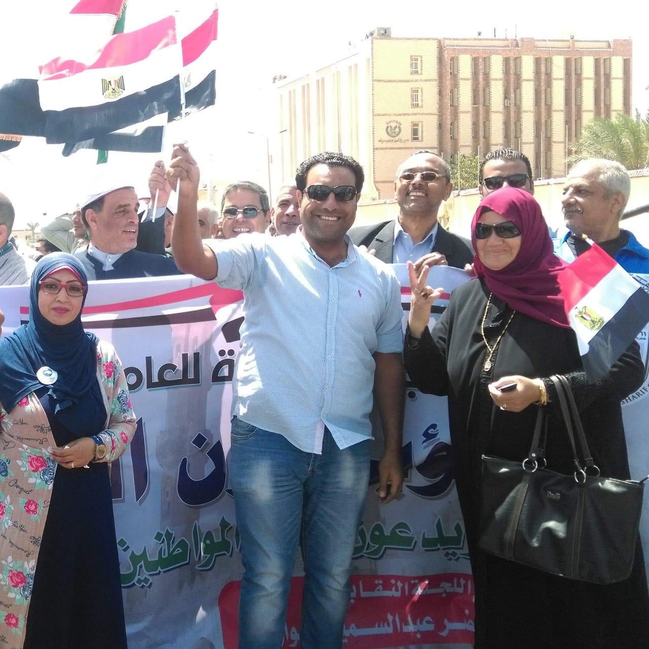 مسيرات شعبية تجوب جنوب سيناء (2)