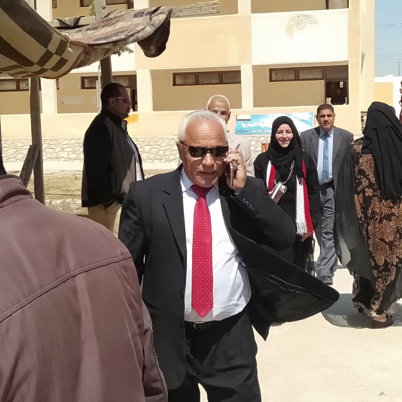 سليمان فرج ، نائب رئيس مركز ومدينة بئر العبد (3)