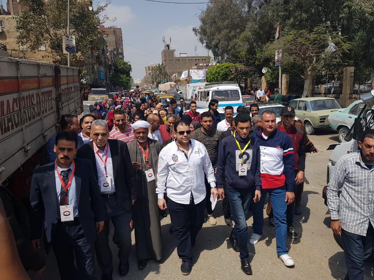 مسيرات شعبية تجوب جنوب سيناء (3)