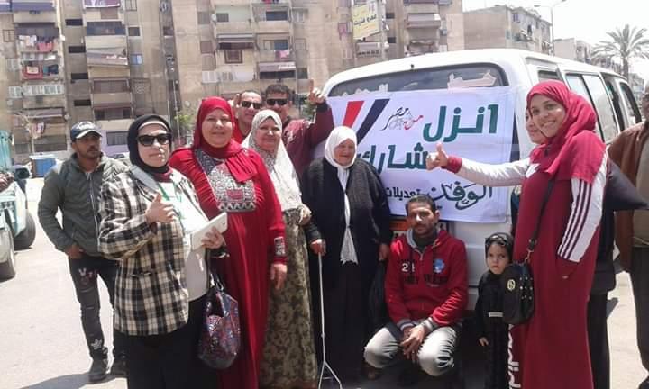 مسيرات شعبية تجوب جنوب سيناء (1)