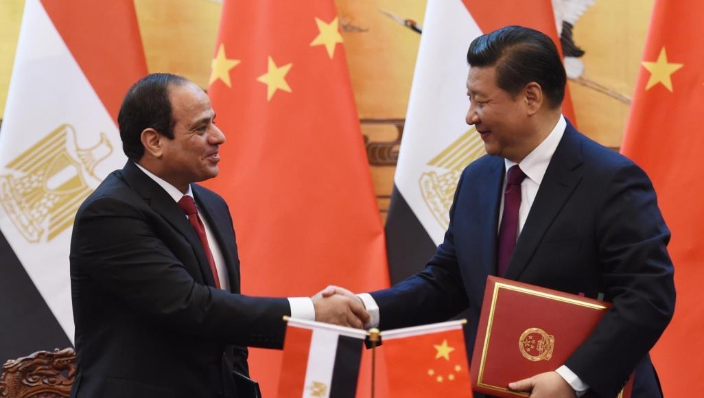السيسي والصيني
