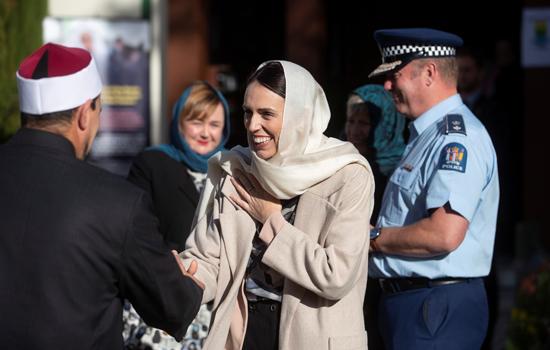 جاسيندا أرديرن رئيسة وزراء نيوزلندا