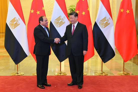 الرئيس عبد الفتاح السيسى والرئيس الصينى (2)