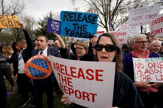 مظاهرة للمطالبة بنشر تقرير مولر (7)