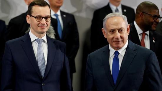 بنيامين نتنياهو ورئيس وزراء بولندا