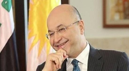 رئيس جمهورية العراق برهم صالح
