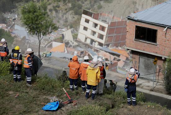 انهيار أرضى فى بوليفيا (5)