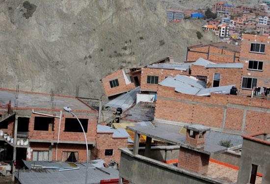 انهيار أرضى فى بوليفيا (2)