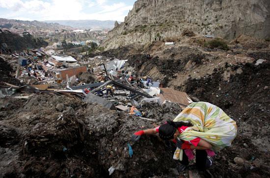 انهيار أرضى فى بوليفيا (9)