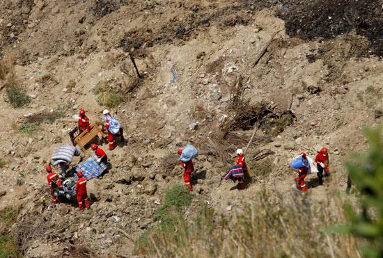 انهيار أرضى فى بوليفيا (7)
