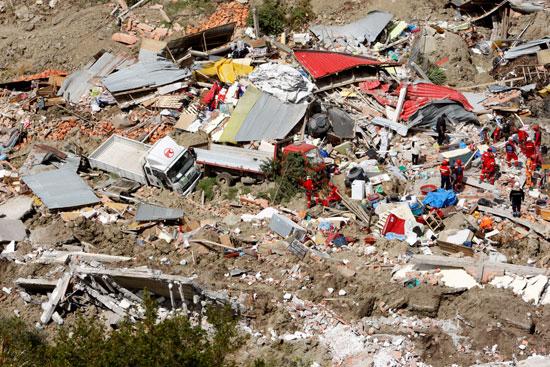 انهيار أرضى فى بوليفيا (8)