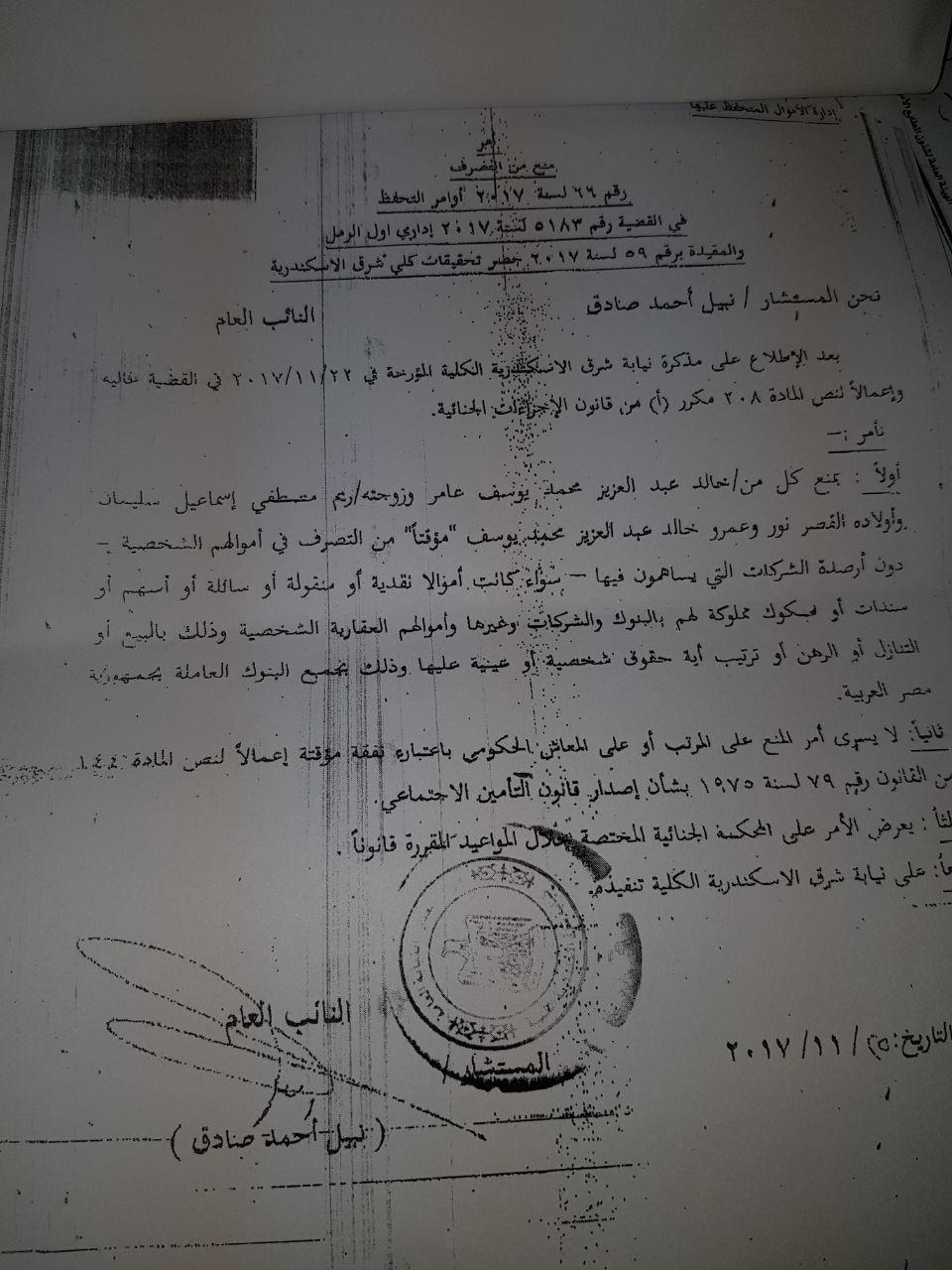 أزمة مشروع سيتي بالاس بالإسكندرية (2)