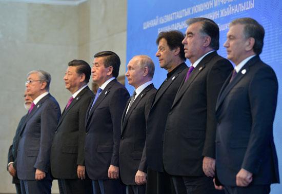 زعماء قمة منظمة شنجهاى للتعاون