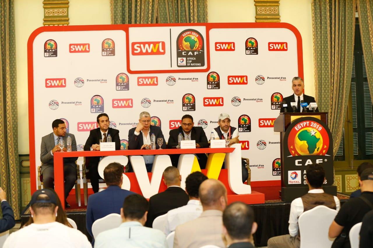 سويفل المواصلة الرسمية لمبارايات كأس الأمم الإفريقية (2)