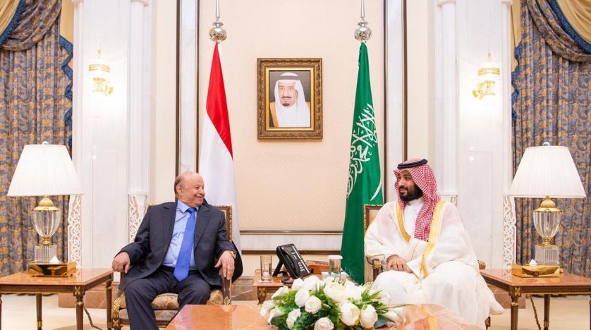 محمد بن سلمان والرئيس اليمني