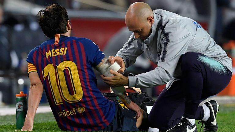ميسي يغيب عن برشلونة ضد فالنسيا اليوم