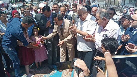 افتتاح معرض العودة للمدارس (4)