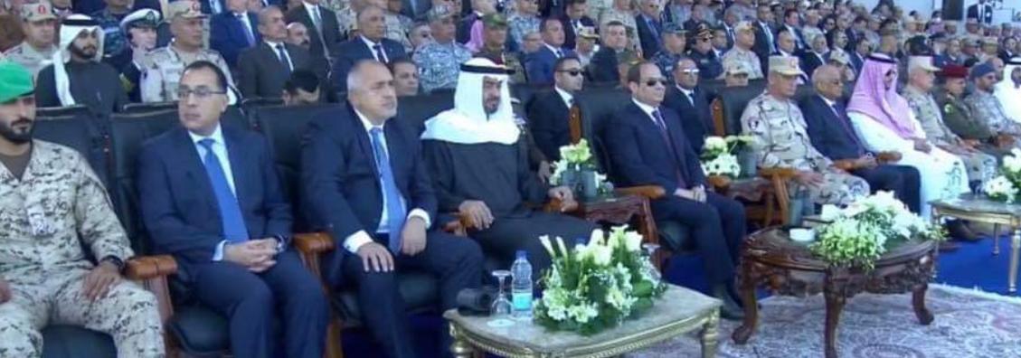 رئيس وزراء بلغاريا بجوار مدبولي